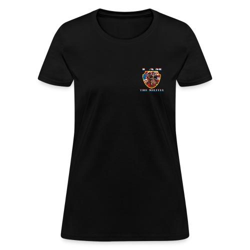 I Am the Militia Womens Tee (Breast Insignia) - Women's T-Shirt