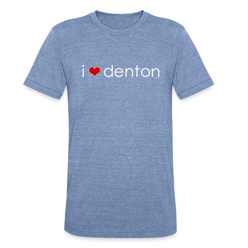 iheartdenton_coordinates - Unisex Tri-Blend T-Shirt