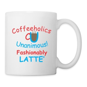 CU fashionably latte' cup - Coffee/Tea Mug