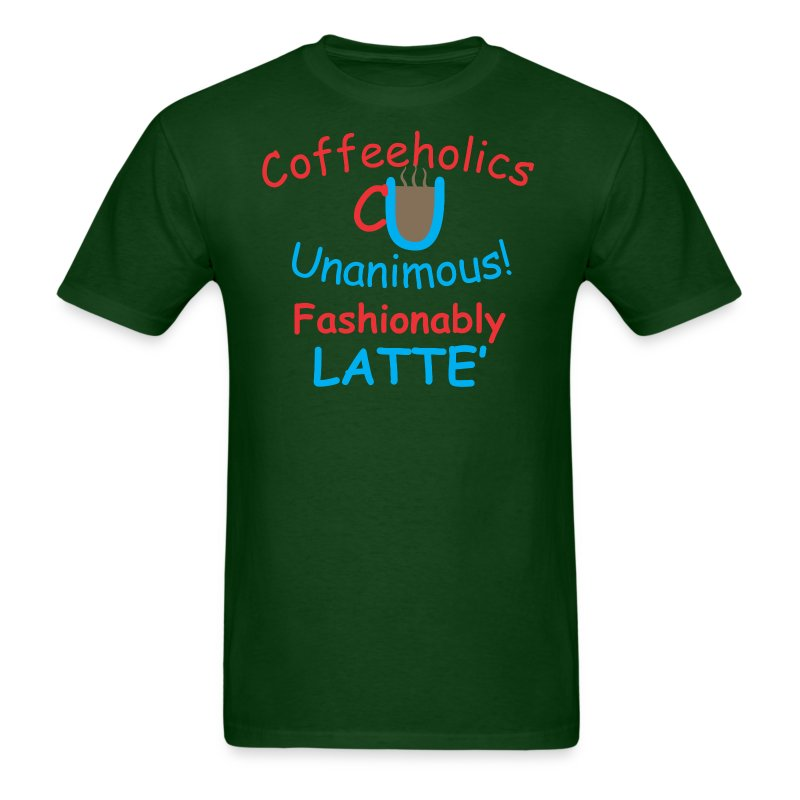 CU fashionably latte' - Men's T-Shirt