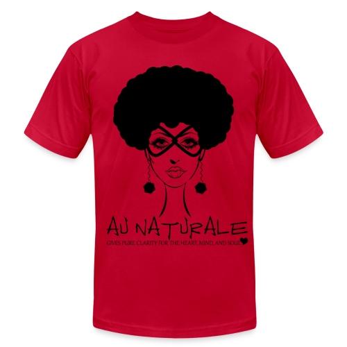 AU NATURAL TEE - Men's Fine Jersey T-Shirt