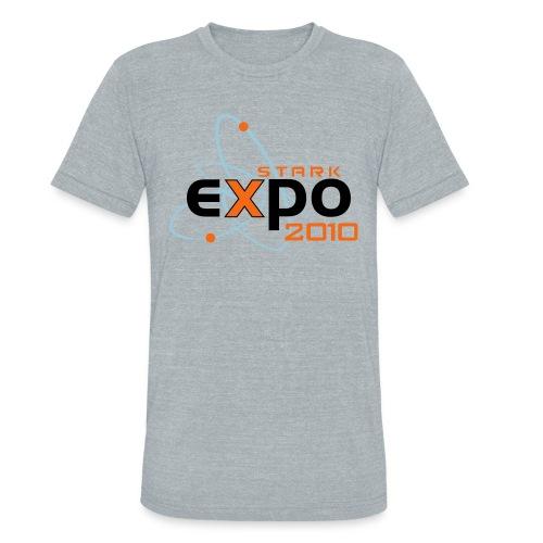 Stark Expo White Grey Vintage - Unisex Tri-Blend T-Shirt