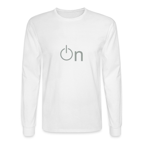 On - Men's Long Sleeve T-Shirt