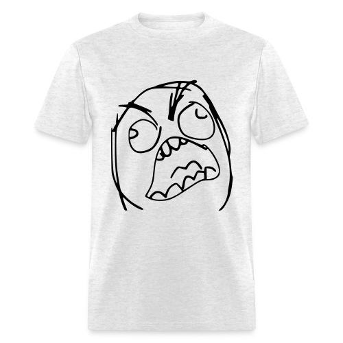 Rage Derp Face - Men's T-Shirt