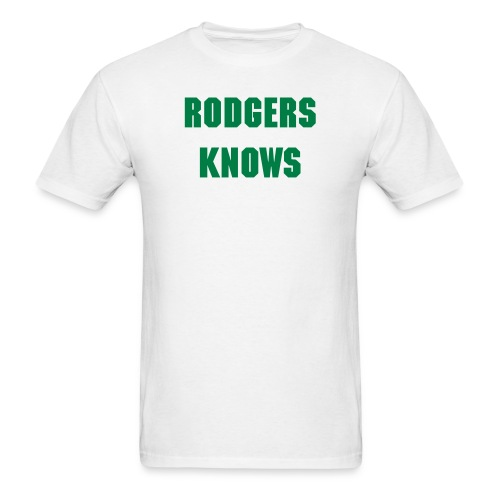 Classic Tee - Rodgers Knows - Men's T-Shirt