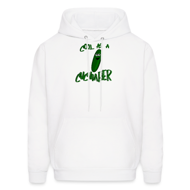 Cool As A Cucumber, Cartoon Cuke--DIGITAL DIRECT Hoodies