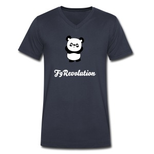Panda Shirt - F9Revolution - Men's V-Neck T-Shirt by Canvas