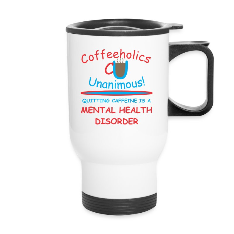 CU mental health travel mug - Travel Mug