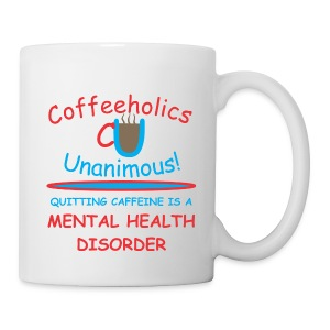 CU mental health cup - Coffee/Tea Mug