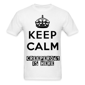 Keep Calm Mens T-Shirt - Men's T-Shirt