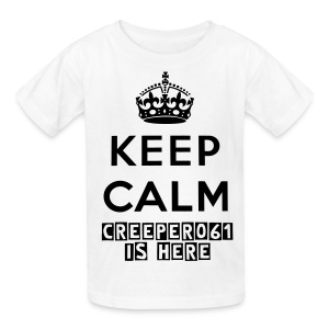 Keep Calm Kids T-Shirt - Kids' T-Shirt