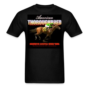 American Thoroughbred_8 - Men's T-Shirt