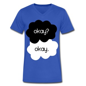 TFIOS - Okay? - Men's V-Neck T-Shirt by Canvas