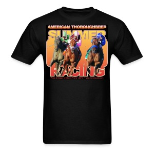 American Thoroughbred Summer Racing - Men's T-Shirt