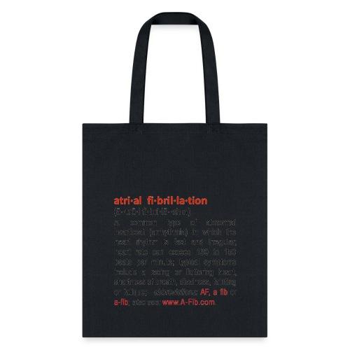 A-Fib definition^ - Tote Bag