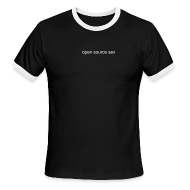 T-Shirts ~ Men's Ringer T-Shirt ~ open source sex ringer