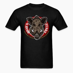 boars_tusks T-Shirts