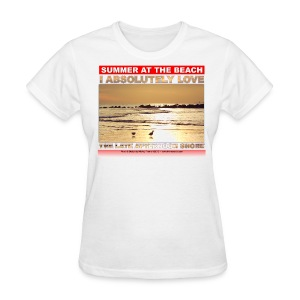 SUMMER AT tHE BEACH - Women's T-Shirt