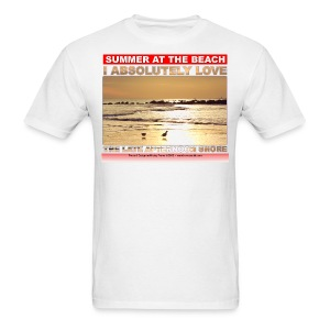 SUMMER AT tHE BEACH - Men's T-Shirt