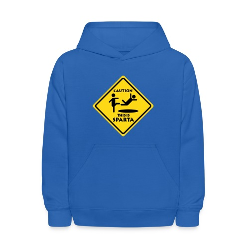 CAUTIONSPARTA High Quality Printing EDIT - Kids' Hoodie
