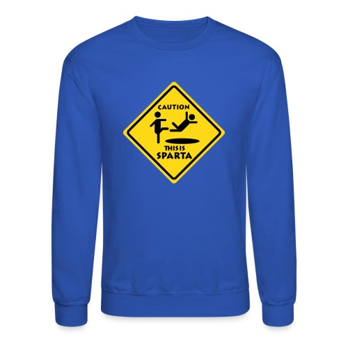 CAUTIONSPARTA High Quality Printing EDIT - Crewneck Sweatshirt