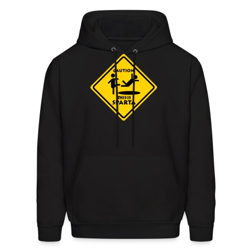 CAUTIONSPARTA High Quality Printing EDIT - Men's Hoodie