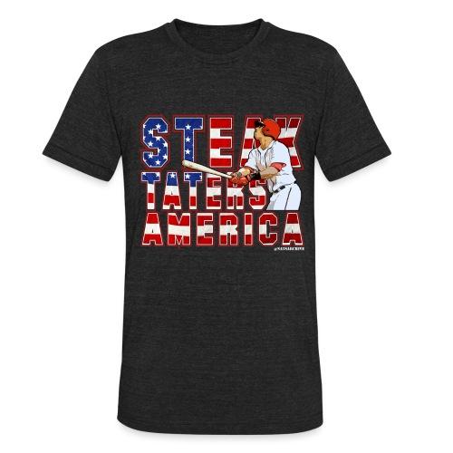 STA - UNISEX Triblend DARK - Unisex Tri-Blend T-Shirt