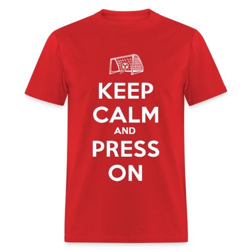 Christen Press - Keep Calm and Press On Shirt - Men's T-Shirt