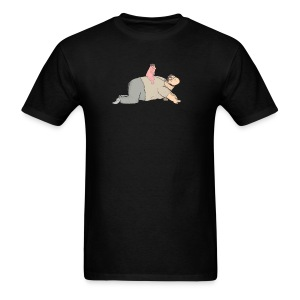 Anus Man Mounting Wingsie - Men's T-Shirt