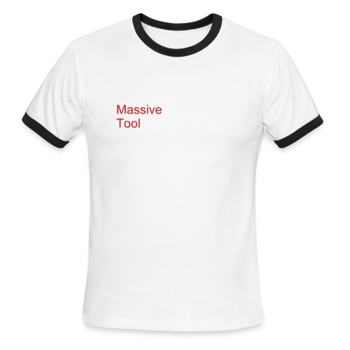 Massive Tool - Men's Ringer T-Shirt