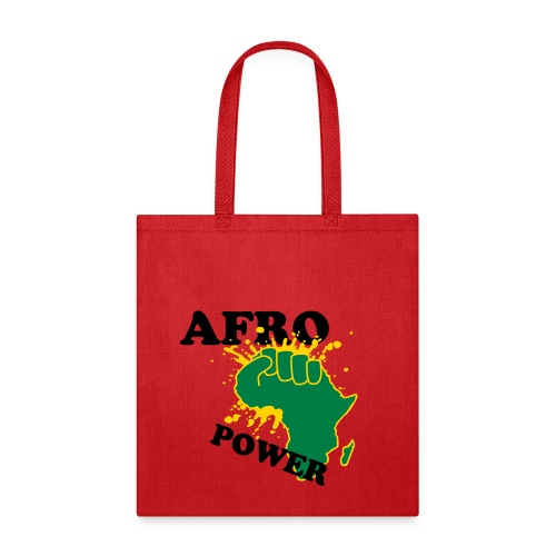 Power 2 Tha' Afro - Tote Bag
