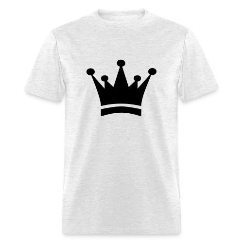 Basic Crown Black - Men's T-Shirt