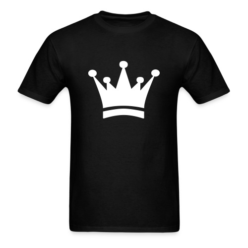 Basic Crown White - Men's T-Shirt
