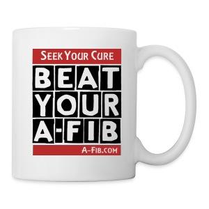 Seek Your Cure BeatYourA-Fib/ - Coffee/Tea Mug