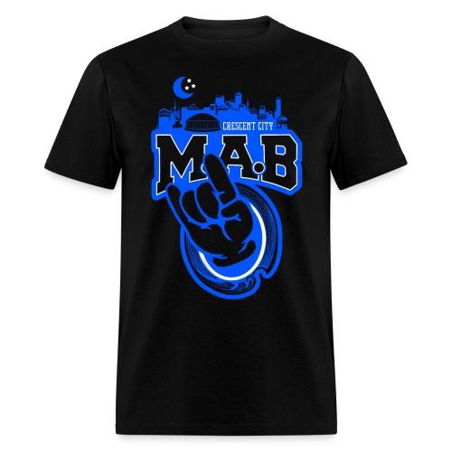 Crescent City MAB Black Crew - Men's T-Shirt