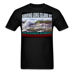 Surf Long Island - Men's T-Shirt