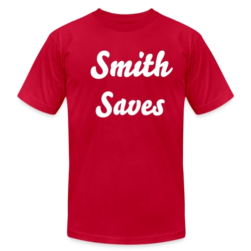 Smith Saves tshirt - Men's  Jersey T-Shirt