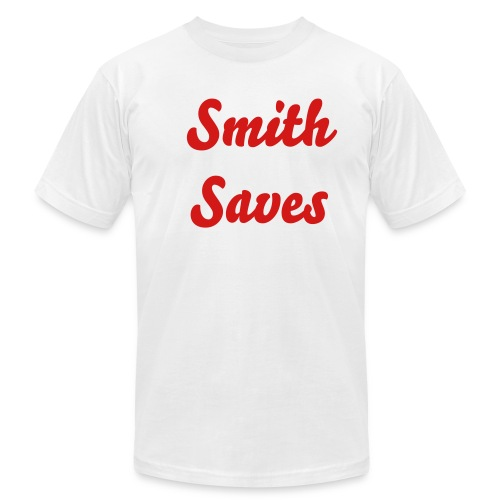 Smith Saves tshirt - Men's Fine Jersey T-Shirt