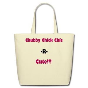 Eco World Chubby Chick Chic Cu-tie Tote/Pink Lush - Eco-Friendly Cotton Tote
