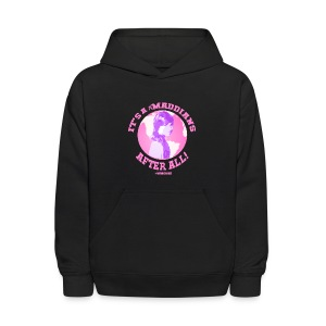 It's A Maddians World After All - Kids' Hoodie
