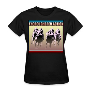 Thoroughbred Action 15 - Women's T-Shirt
