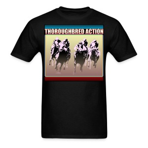 Thoroughbred Action 15 - Men's T-Shirt