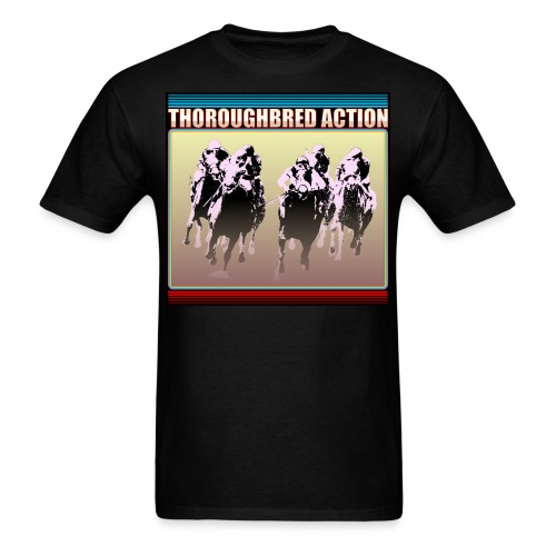 Thoroughbred Action 15 - Men's T-Shirt