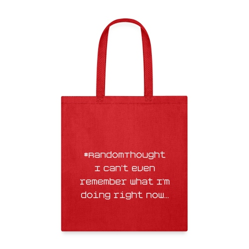 I Can't Remember - Tote Bag