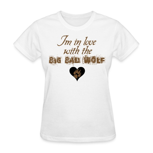 Women's Wolf Love  - Wolfe and Harrison Services - Women's T-Shirt