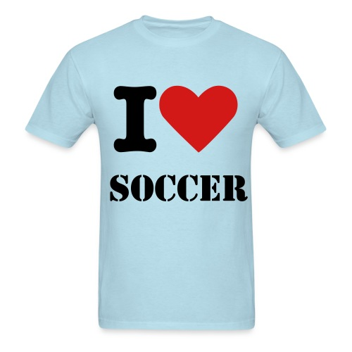 Love Soccer  - Men's T-Shirt