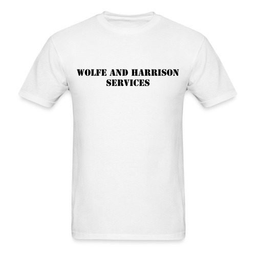 Standard Tee - Wolfe and Harrison Services - Men's T-Shirt