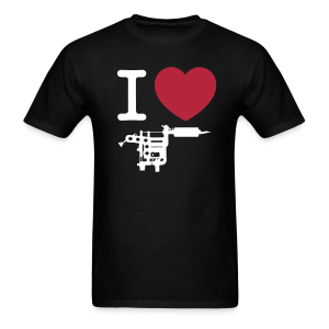 I Love Tattoos Men's T-Shirt - Men's T-Shirt