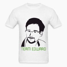 Edward Snowden: Team Snowden T-Shirts