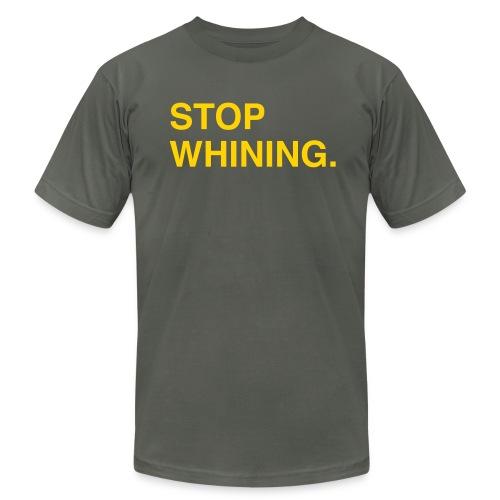 Stop Whining (Asphalt) - Men's  Jersey T-Shirt